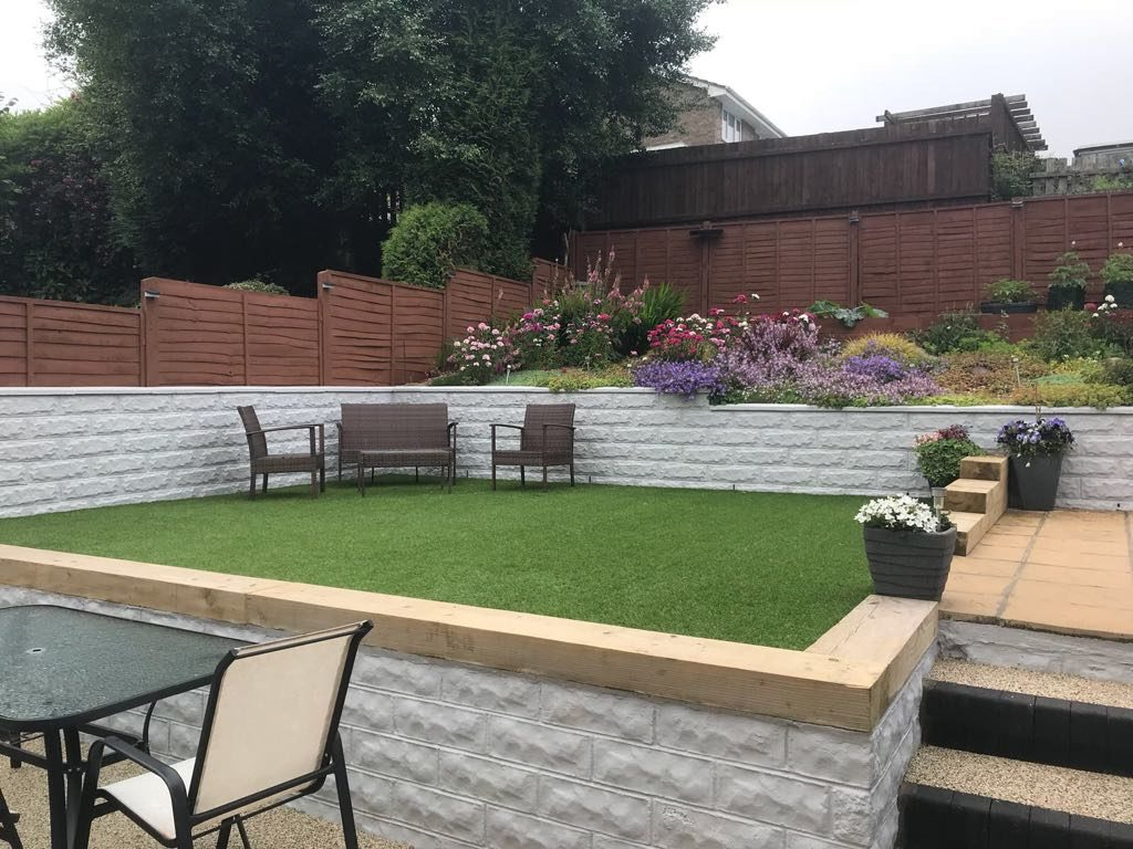 Artificial grass installation Caerphilly