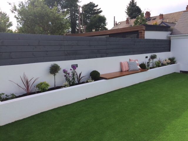 Image of artificial grass fitting job in Cardiff